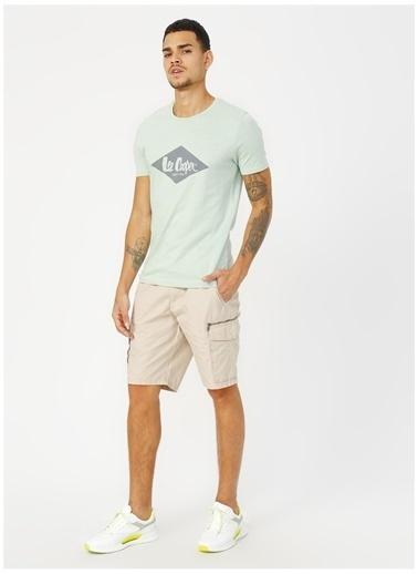 Lee Cooper Lee Cooper 242008 Mint Erkek T-Shirt Yeşil